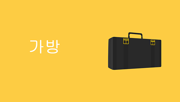 Bag in Korean