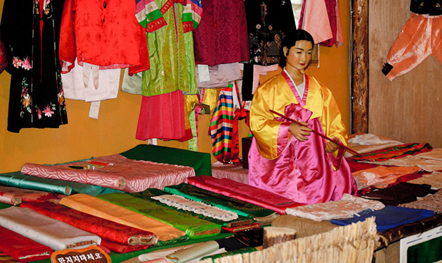Hanbok, the Korean Clothing
