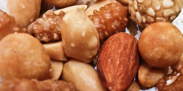 Here is a picture of nuts