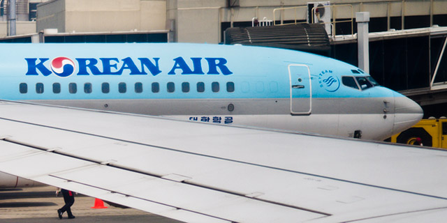 Korean Air's stock took a huge dive after the 'nut rage' incident