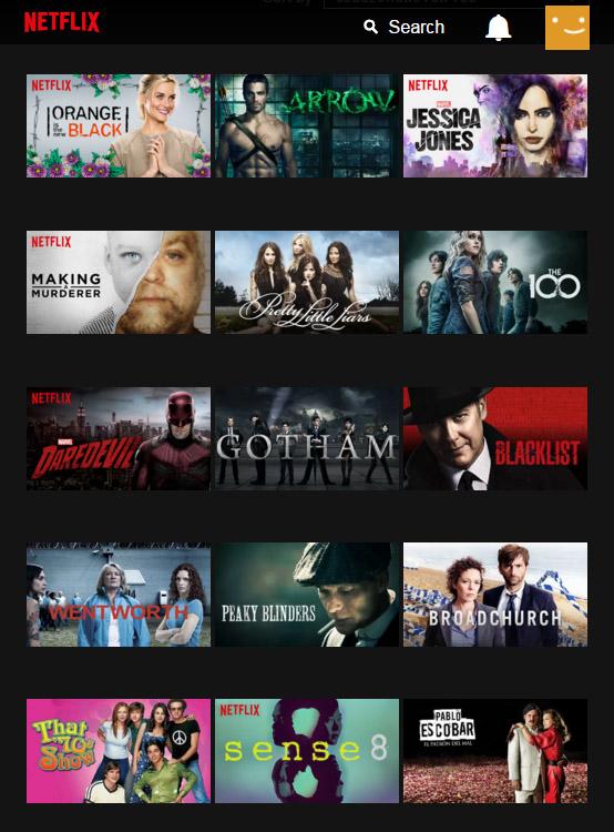 Netflix Korea Show Selections