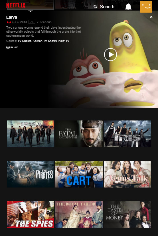 Korean Shows on Netflix Korea