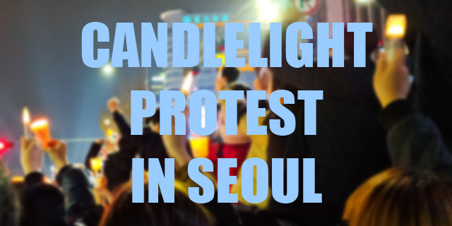 Candlelight Protest in Seoul