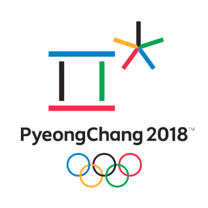 Pyeongchang Olympics Logo in Korean
