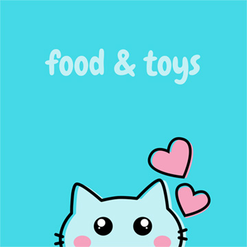 Cat Food & Toys